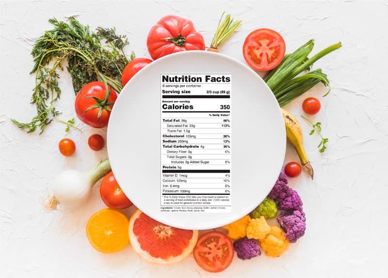 phân tích thành phần dinh dưỡng trong thực phẩm